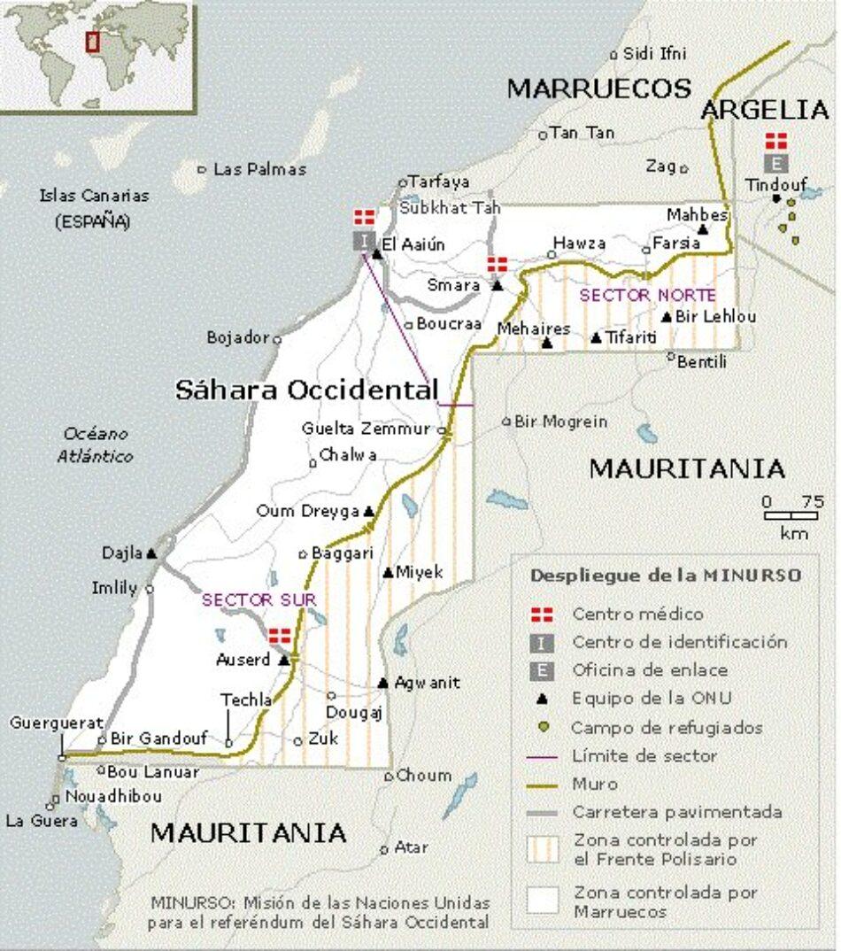 EU promove declaracións institucionais en solidariedade co Sáhara Occidental ante a violación do alto ao fogo por parte do Reino de Marrocos no Guerguerat