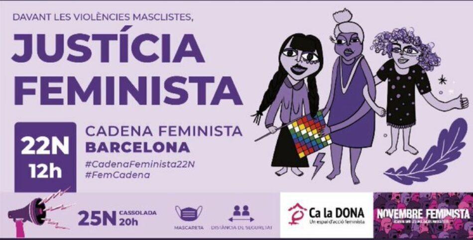 Novembre Feminista: «Ja et pots inscriure a la Cadena Feminista»