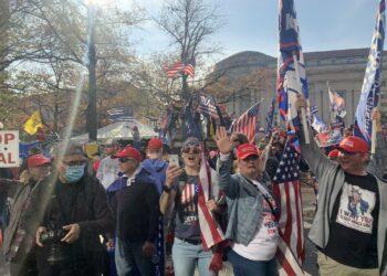 La manifestación de seguidores de Trump en Washington acaba con disturbios y enfrentamientos