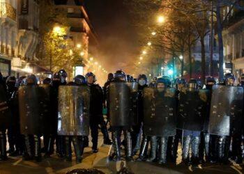 Movilizaciones en Francia contra la nueva Ley de Seguridad promovida por el gobierno Macron