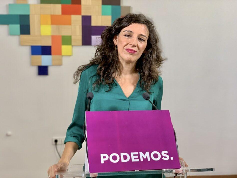 Podemos Andalucía acusa al lobby de la concertada de instrumentalizar a los escolares en sus protestas y pide la retirada de subvenciones al sector