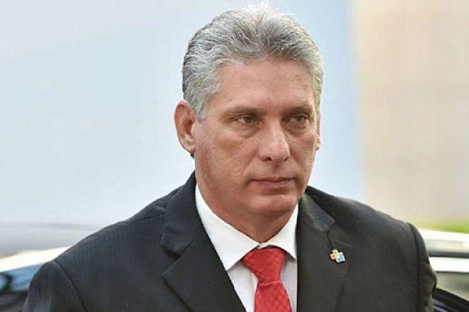 Díaz-Canel rememora ideas de Fidel Castro sobre soberanía