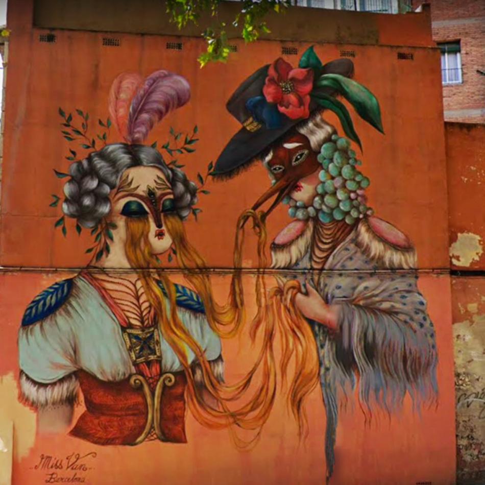 El arte urbano, la respuesta cultural ante las restricciones y el confinamiento