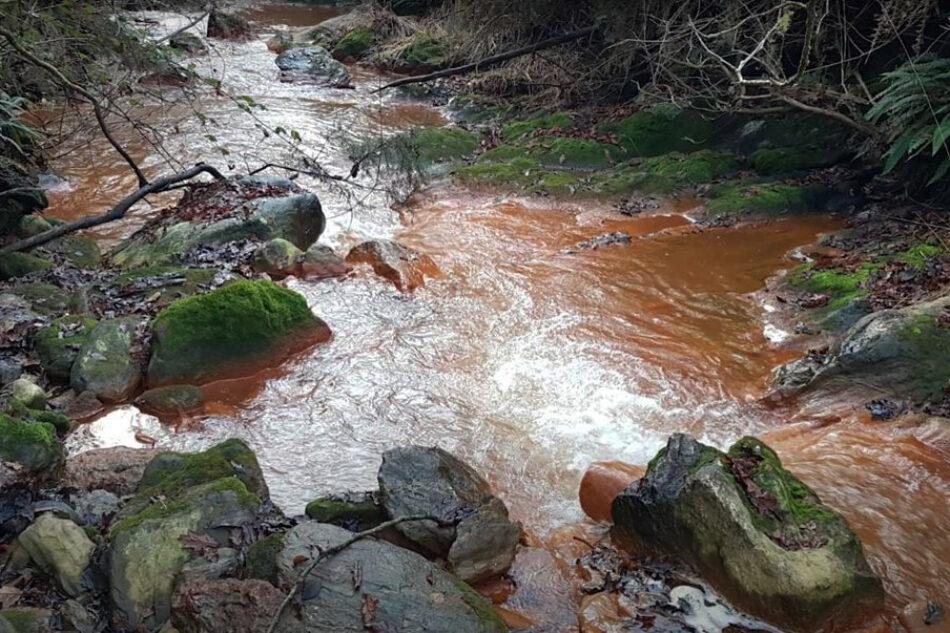 Ecoloxistas en Acción agarda resposta institucional da Valedora do Pobo sobre o abandono das balsas mineiras de San Finx