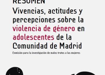 El 69% de adolescentes de la Comunidad de Madrid cree que la violencia de género la sufren mujeres y hombres indistintamente