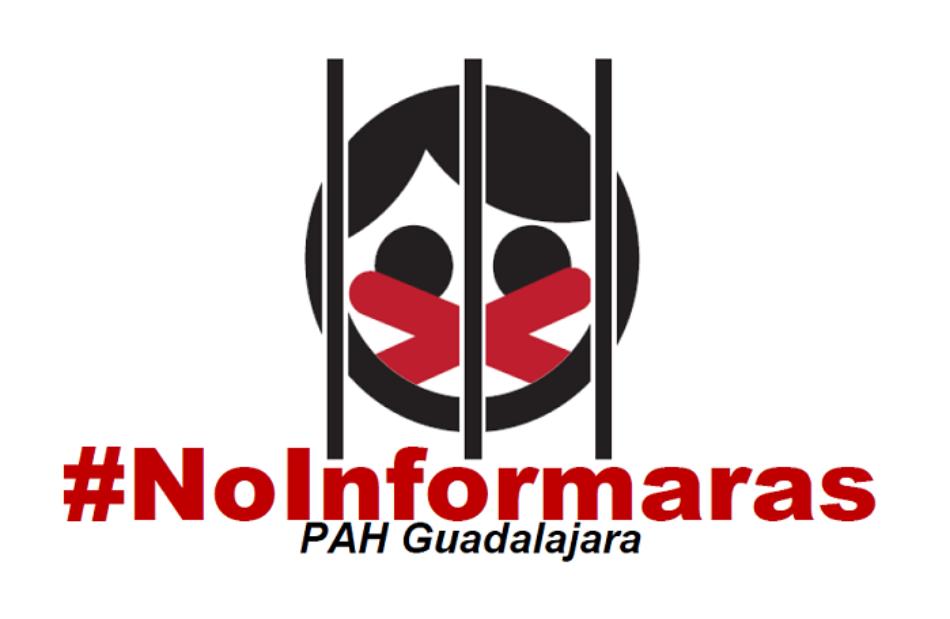 La Fiscalía pide 4,5 años de cárcel para un activista de la PAH que fotografió a la Comisión Judicial en un desahucio de una familia con un bebé