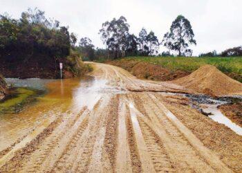 Ecoloxistas en Acción desmiente a Xunta y alcalde de Santa Comba tras los vertidos de la mina de Varilongo