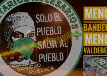 Sanitarixs Necesarixs convoca una concentración, el martes 1 de diciembre, «por la Sanidad 100% publica»