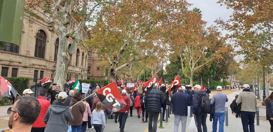 CGT Andalucía convoca movilizaciones contra el estado de la Justicia este miércoles
