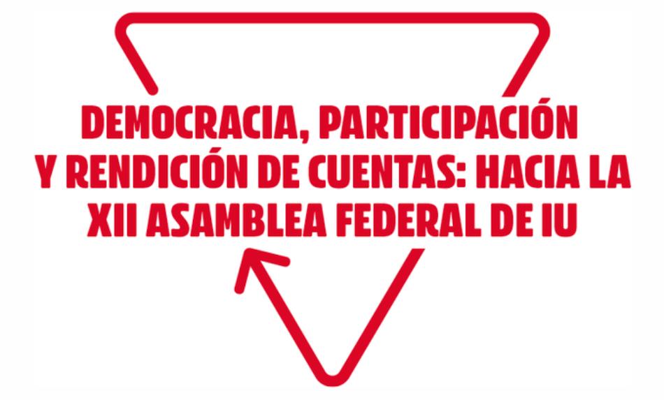 Izquierda Unida aprueba retrasar dos meses la culminación de su XII Asamblea Federal de enero e implementará planes para superar los problemas derivados de la pandemia