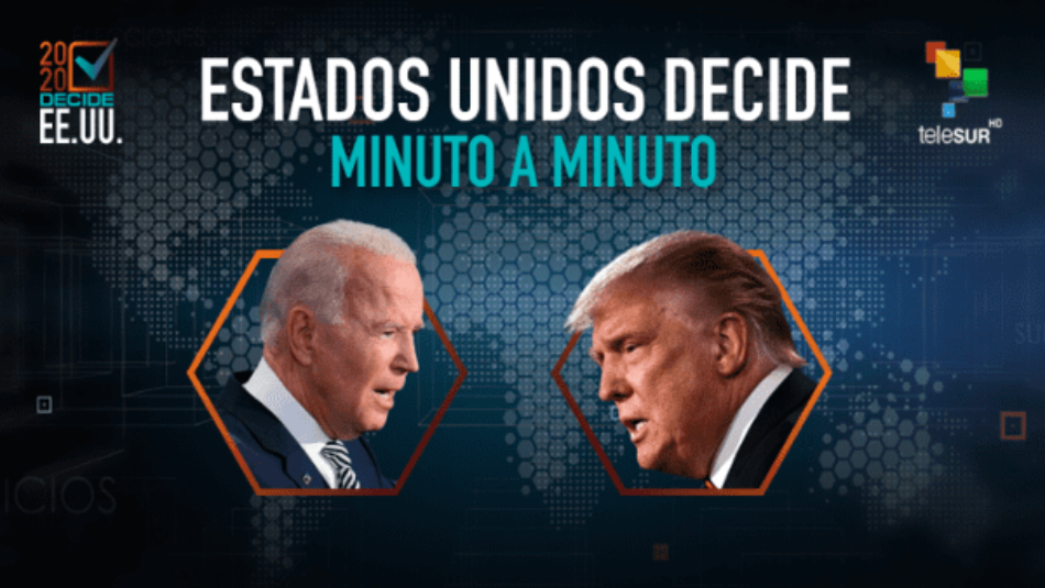 Avanza conteo de votos en EE.UU. con ventaja para Joe Biden