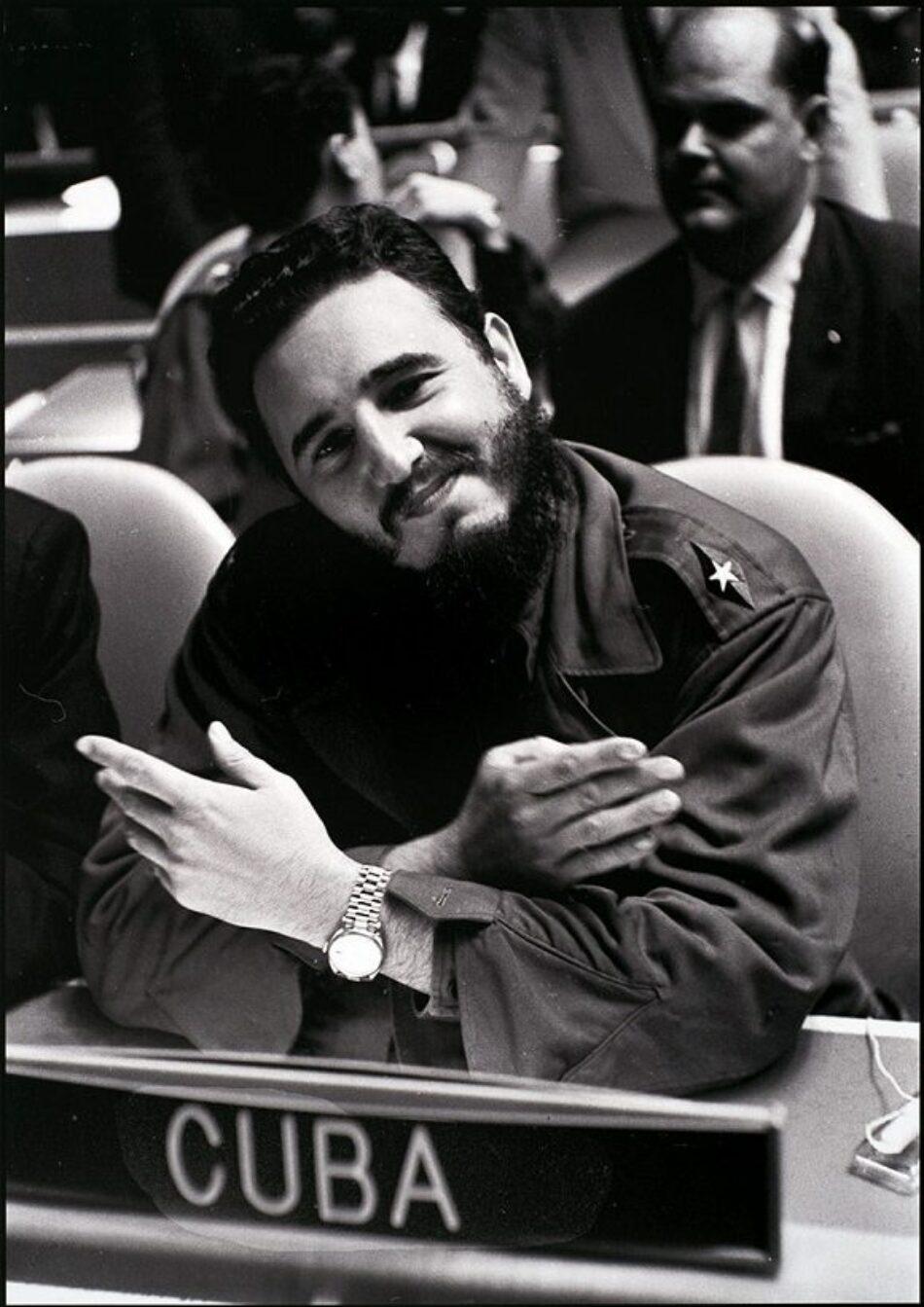 Fidel en el mundo, el mundo en Fidel