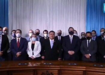 Denuncian que Congreso guatemalteco criminaliza protesta social