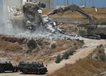 Eurodiputados llevan al Parlamento europeo las demoliciones de infraestructuras y hogares palestinos por parte Israel