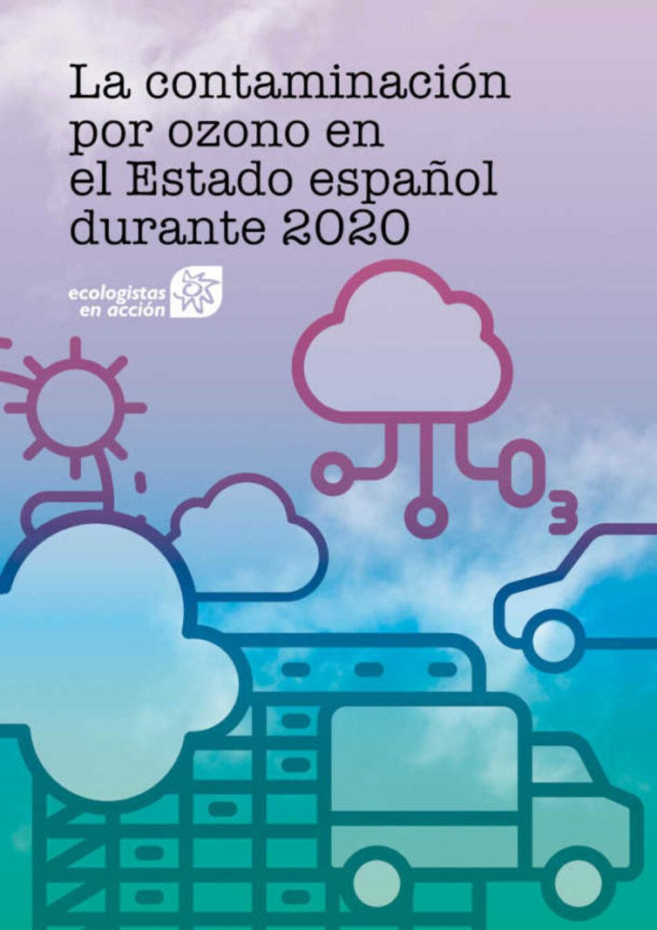 La contaminación por ozono cae un 27% en Madrid y un 41% en España en 2020