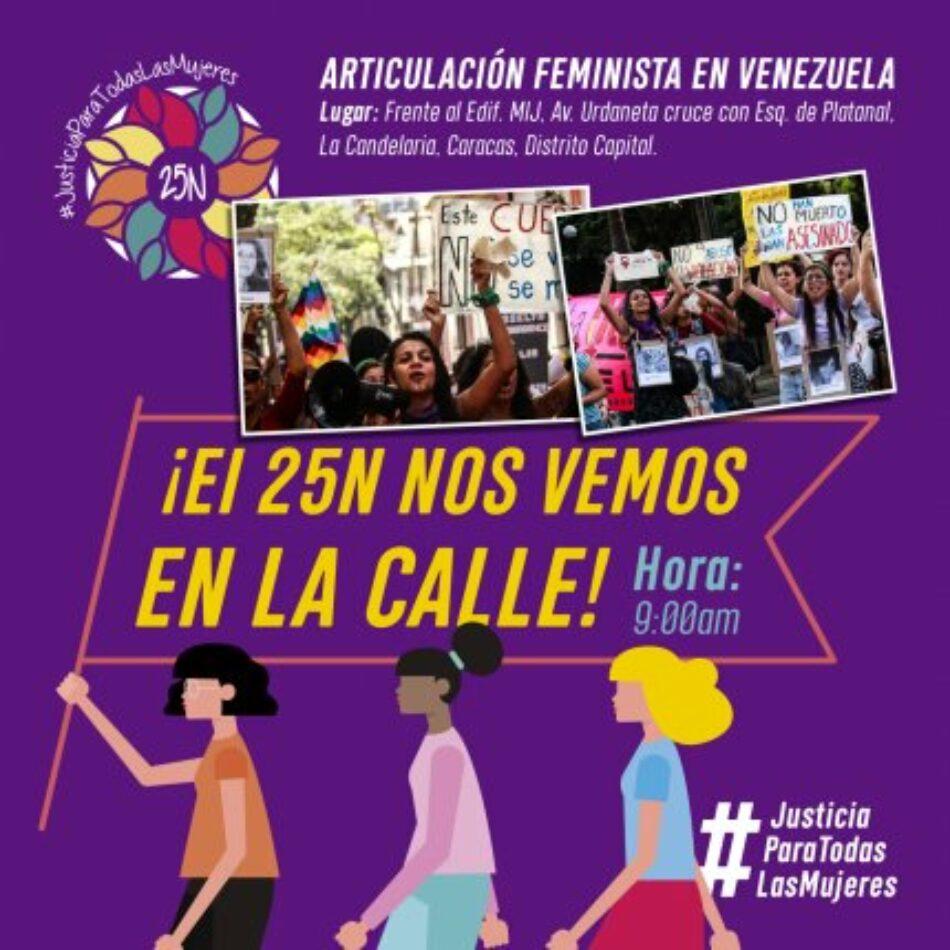 Marcha en Venezuela el 25N: «El machismo nos mata más que el coronavirus ¡No Estamos Todas!»