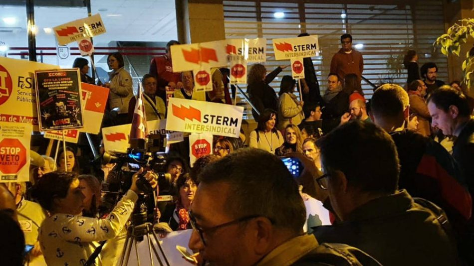 STERM denuncia la falta de docentes y lanza la campaña 'Aquí faltan profes'