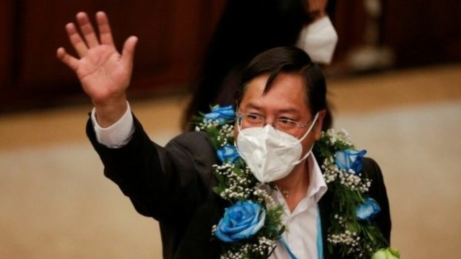 Evo Morales condena el atentado al presidente electo de Bolivia