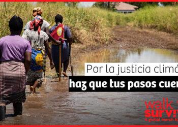 Lanzamiento de la campaña mundial 'En marcha por la supervivencia' para visibilizar la injusticia climática