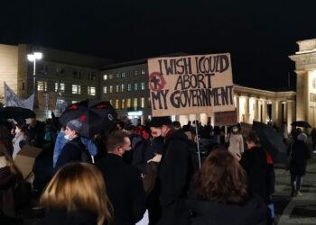 La «Quinta Semana Sangrienta» de las mujeres de Polonia en Berlín