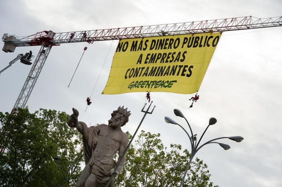 Greenpeace propone priorizar la financiación del transporte público en la nueva Ley de Movilidad