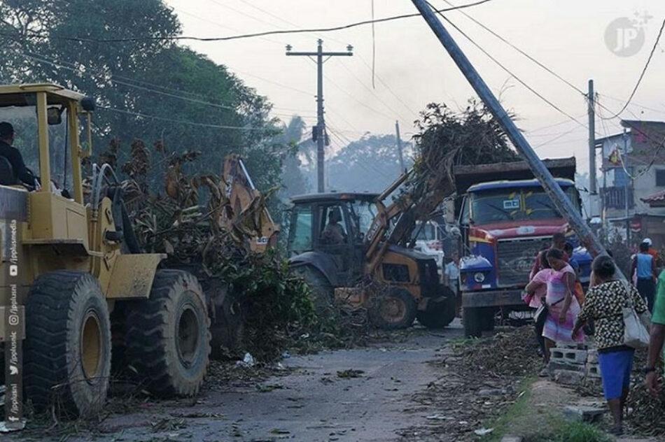 Huracanes dejan pérdidas por 747 millones de dólares en Nicaragua