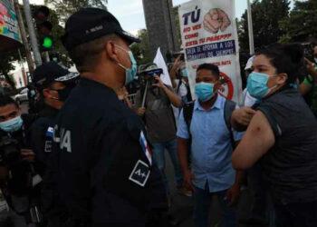 Protestas juveniles estremecen a Panamá