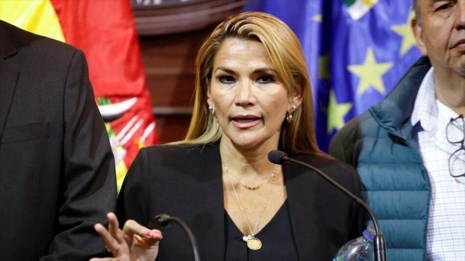 Jeanine Áñez, candidatura para elecciones regionales de Bolivia