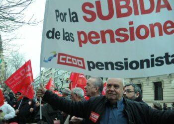 CCOO y UGT exigen al Gobierno la reposición de la cláusula de salvaguarda para las pensiones