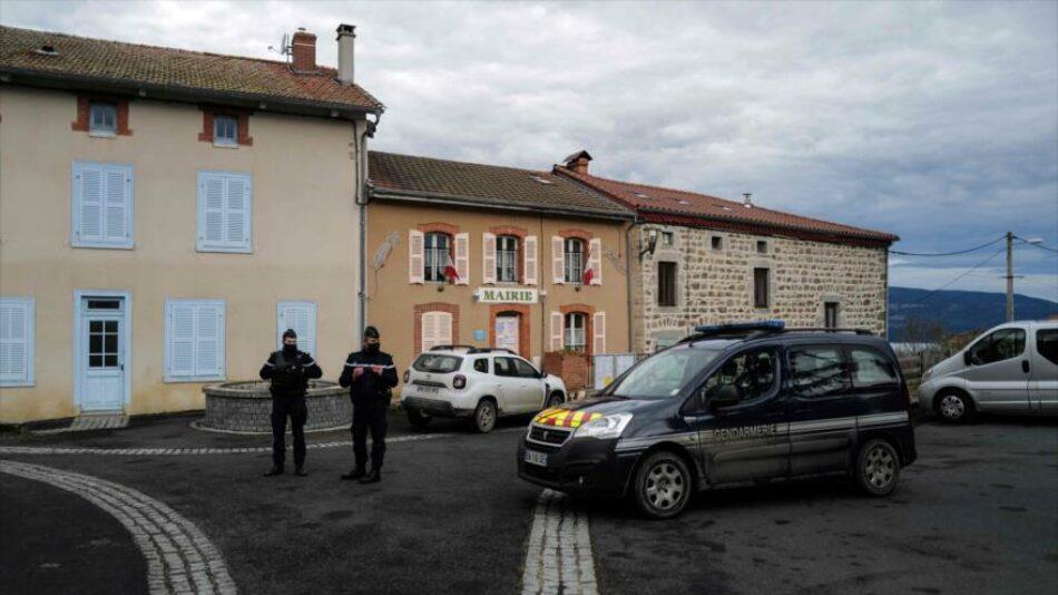 Tiroteo en Francia se salda con tres policías muertos y un herido