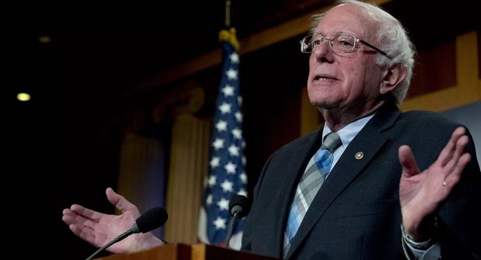Bernie Sanders: «EEUU siempre tiene dinero para la guerra, pero nunca para los niños hambrientos»