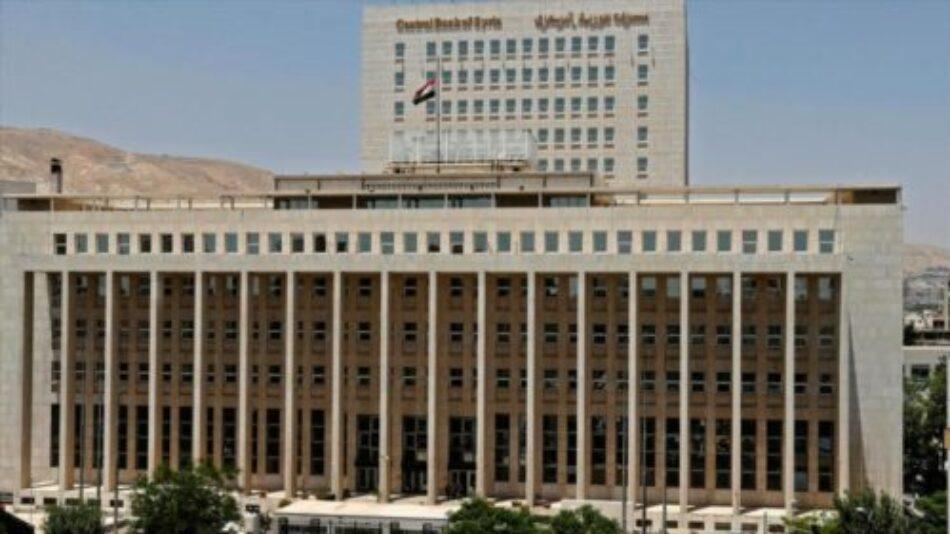 EEUU sanciona el Banco Central y a varias entidades sirias