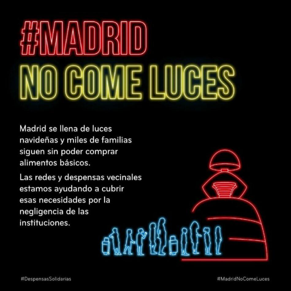 Coordinadora de Vivienda de Madrid: «Madrid no come luces»
