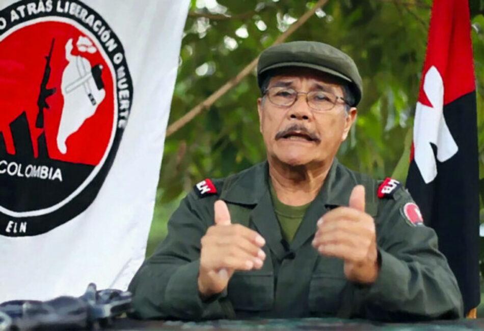 Mensaje del Primer Comandante del ELN a las FFAA desde Colombia