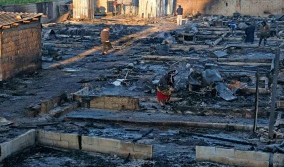 Ejército libanés arresta a implicados en incendio del campo de refugiados sirios