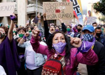 Reportan aumento de feminicidios en Colombia en 2020