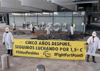 Rebelión por el Clima organiza movilizaciones por todo el país para denunciar la inacción climática de Gobiernos y empresas