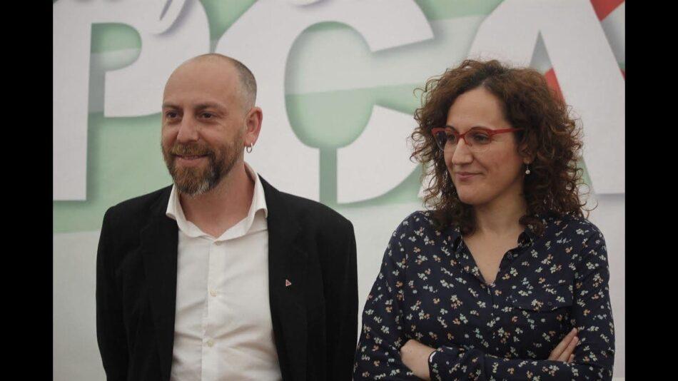 El PCA conmemora el Día Nacional de Andalucía (4D) con un acto virtual en el que participan Ernesto Alba y Nuria López (CCOO-A)