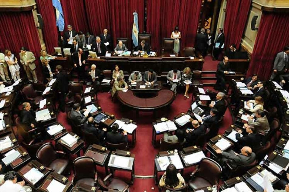 A debate en Senado de Argentina proyecto de impuesto extraordinario