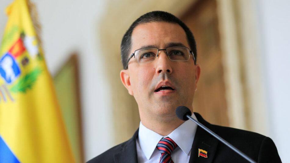 Arreaza afirma que Pompeo debe «asimilar con calma» que su política hacia Venezuela «ha fracasado»