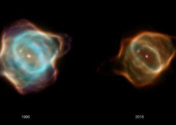 Así se apaga la más joven de las nebulosas planetarias
