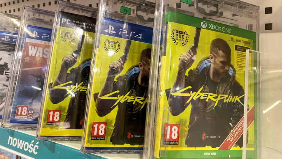 Los desarrolladores de Cyberpunk 2077 pierden 1.000 millones de dólares por fallos técnicos en su videojuego