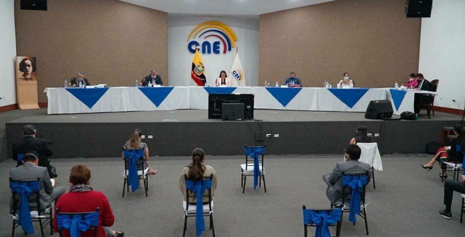 Arranca oficialmente la campaña electoral en Ecuador
