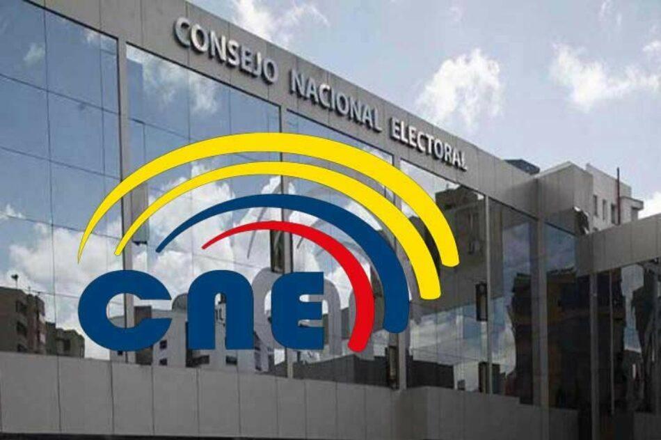Califican 543 medios y empresas para promoción electoral en Ecuador