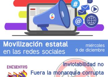 9 de diciembre – Movilización estatal en las redes sociales por la República: «Una salida social y republicana a la crisis»