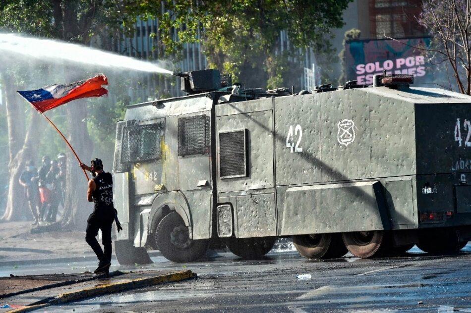 Al menos 30 detenidos en las protestas contra Piñera en Santiago de Chile
