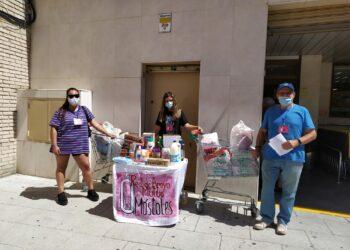La red vecinal de apoyo mutuo declara Móstoles ciudad en estado de emergencia social