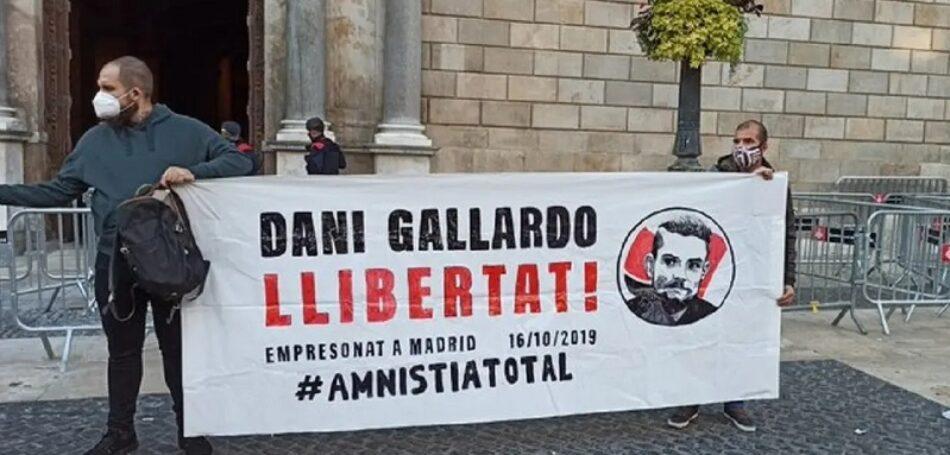 Dani Gallardo, detenido en las protestas tras la sentencia a los líderes independentistas, condenado a cuatro años de cárcel