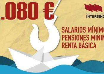 Intersindical RM reivindica un mayor marco de protección social con la campaña 1080 euros