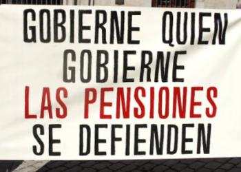 El 19-D llegará al Congreso una manifestación de pensionistas contra las recomendaciones del Pacto de Toledo